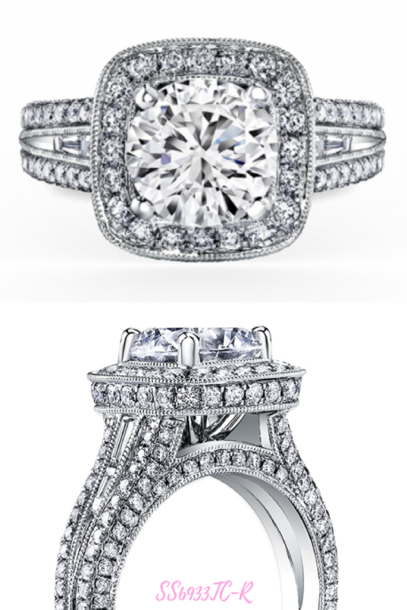 Top 10 Engagement Rings Of 2017 All About The Bling