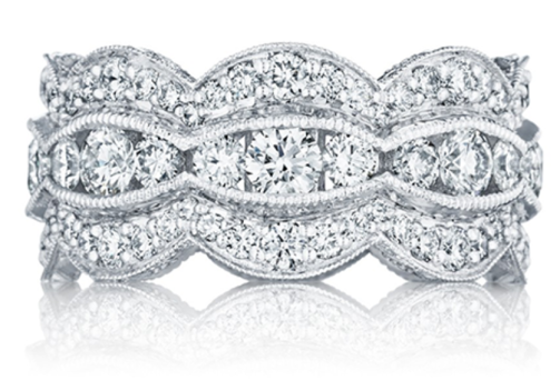 The Beauty of Mismatched Stackable Bands