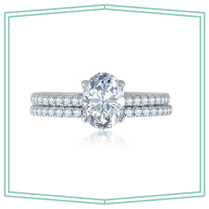 The Most Beautiful Oval Engagement Rings