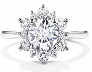Delight Lady Di Diamond Engagement Ring from Hearts on Fire