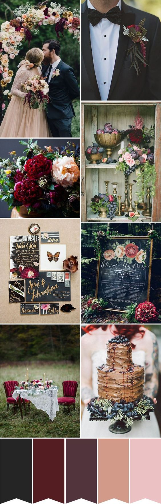 Top 3 Autumn Wedding Color Palettes to Match Your Wedding Band